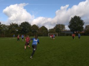 MUG frisbee in een fantastische vorm met 2e plek in Spirit score