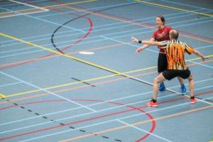 Tweede indoor frisbee competitiedag MUG